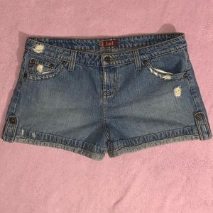Lei cutoff blue jean shorts 13
